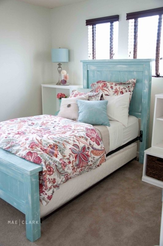 Bedroom Pottery Barn White Twin Bed And Com Farmhouse Style Arched Wood Headboard Ana A Beachy Ish Version Diy
