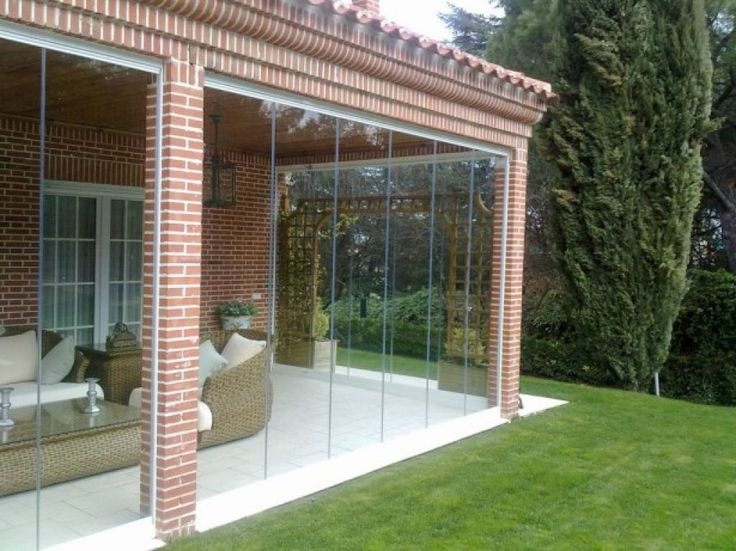 Awesome Enclosed Patio With Glass Walls