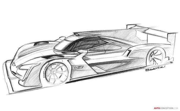 2017 Cadillac DPi-V.R Prototype Race Car