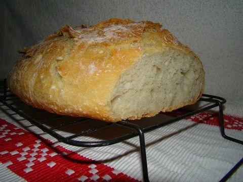 Dagasztás nélküli kenyér :: Ami a konyhámból kikerül
