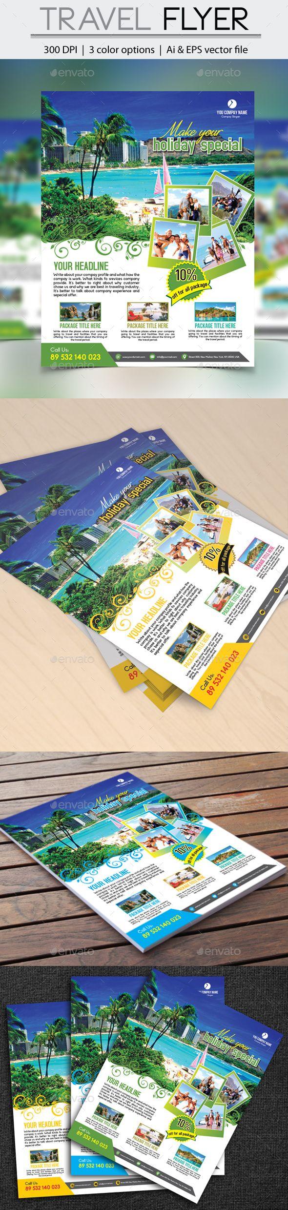 travel flyers