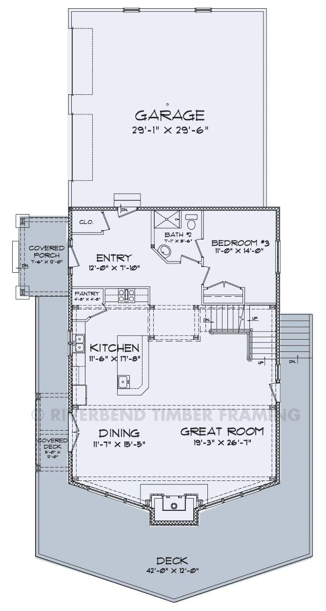 Mayson Floor Plans Riverbend Timber Framing Floor Plans Timber Frame Plans Cabin Floor Plans