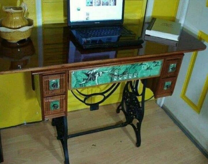 Sewing table desk | Stuff to Try | Pinterest