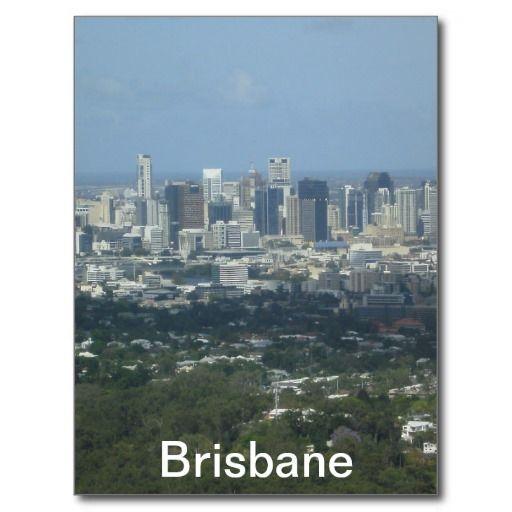 Brisbane City Post Cards