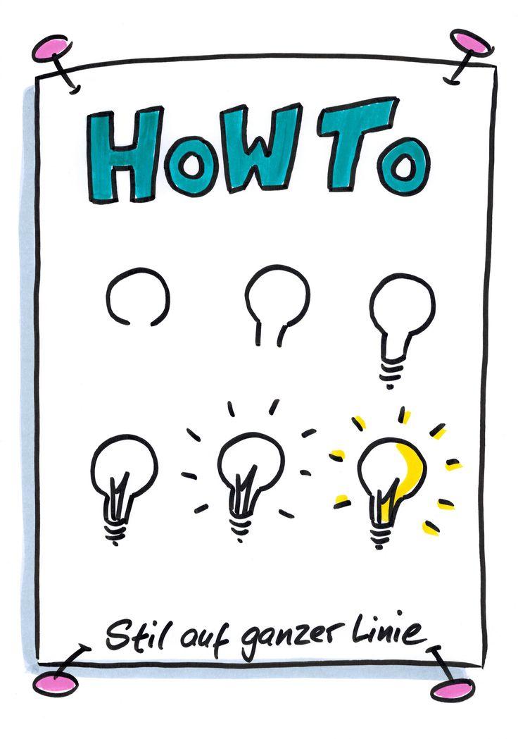 Anleitung zum Glühbirne zeichnen, How To, Visuali…