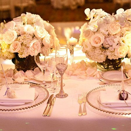 Brides: How Do We Set the Table for Our Formal Wedding Reception?