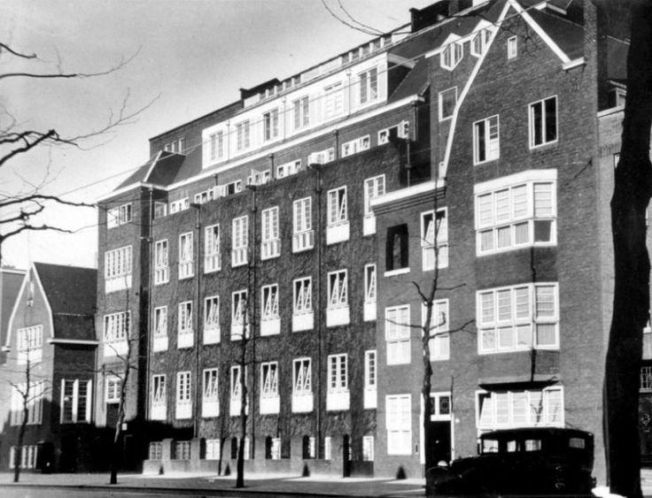 De rotterdamse huishoudschool aan de graaf florisstraat 45 1936