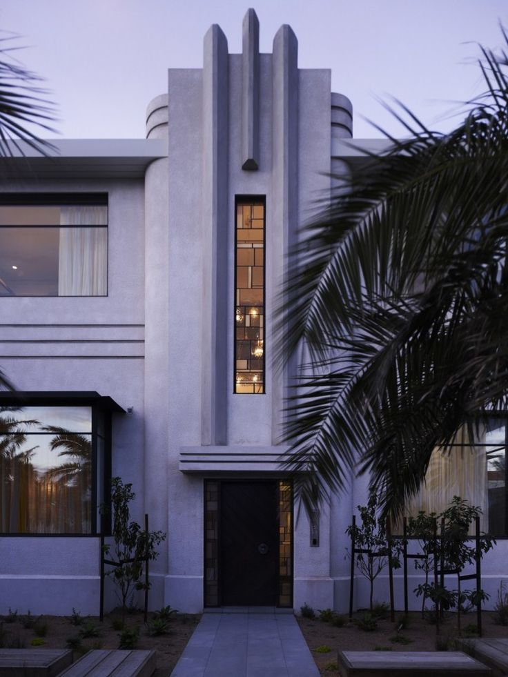 Original Art Deco Middle Park House extended in Melbourne, Australia by KPDO + CJA