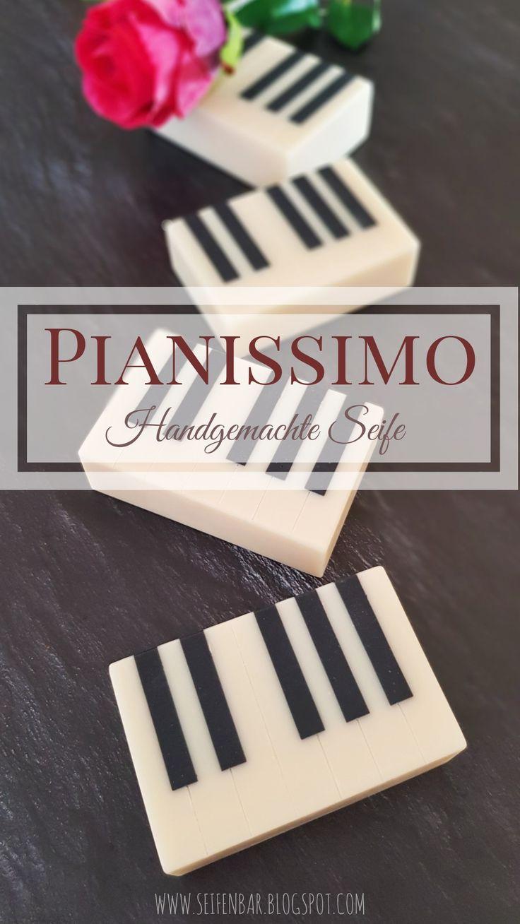 Pianissimo - Handgemachte Seife #seifeselbermachen #soap #soapmaking #handmadesoap #seifenbar