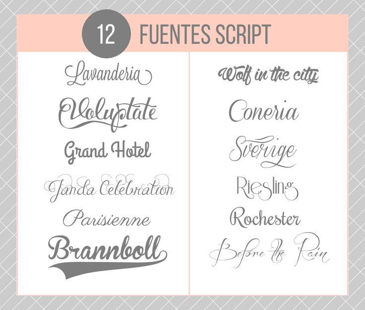 CDBP: 40 tipografías para diseñar carteles tipográficos | Miss Lavanda