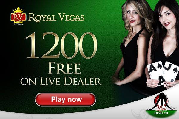 Live Dealer, Royal Vegas Online Casino. No better way to play, try it now. http://2rt.org//an #poker #gaming #casino