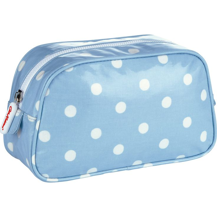 Beauty | Spot Cosmetic Bag | Cath Kidston Nice, soft colour!