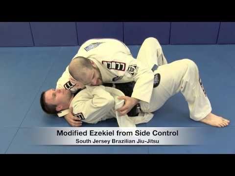 Ezekiel Choke from Side Control - Coach Jay Regalbuto of South Jersey Brazilian Jiu-Jitsu - YouTube