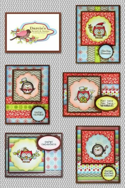Darcie's Cute Critter Christmas Collection