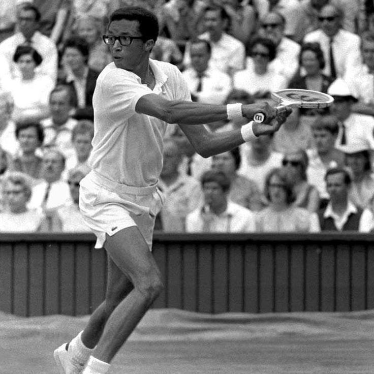 the early life and sports achievements of athlete arthur ashe Arthur ashe was a professional tennis player, and the first black man ever to win singles title at at wimbledon, the us open, and the australian open this biography.