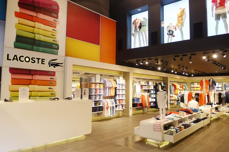 Lacoste, Bicester LIGHTING: into lighting INTERIOR: in-house #retail #lighting #design
