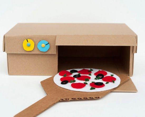 Mommo disseny: 6 JOGUINES cartró reciclat