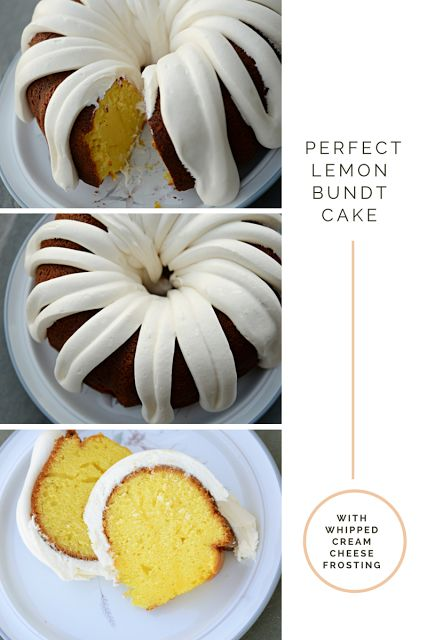 Housewife Eclectic: The Perfect Lemon Bundt Cake