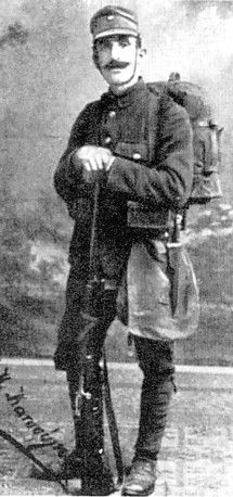 Mihael Kosma Katsoulis ~1913 Post Balkan Wars he was the interpreter for the British military attache during the process of determining the new borders of Northern Greece (Courtesy 'Life in Australia')  Lismore Greeks -1