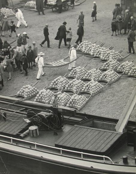 Cheese Market, Holland, c.1932