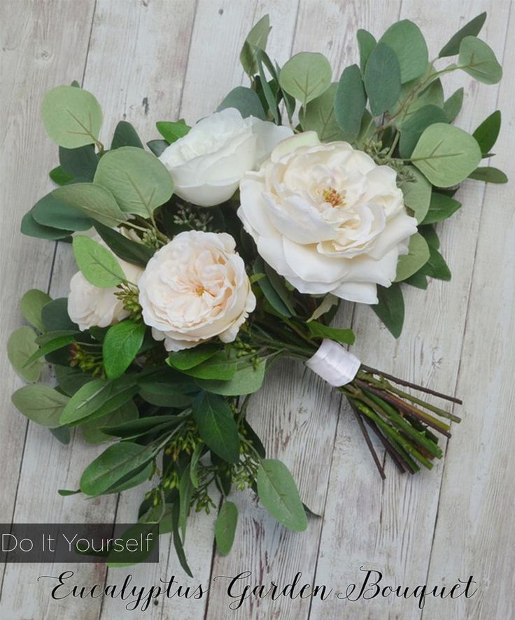Homemade Wedding Bouquets Silk Flowers : Best images about diy wedding on