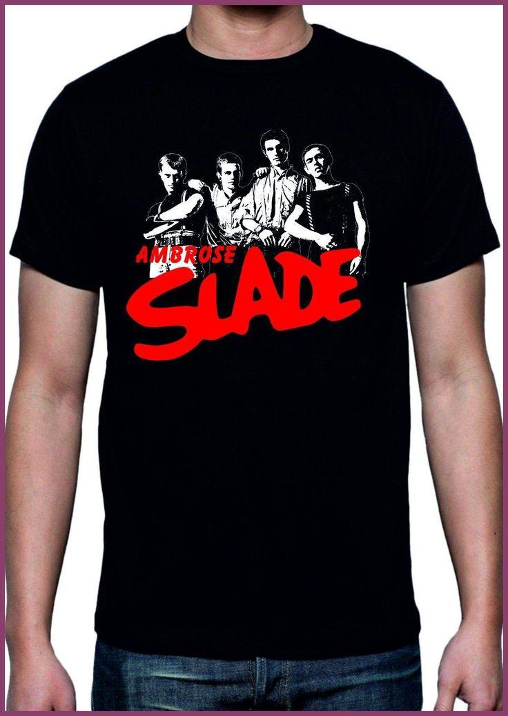 Personalised T Shirts Broadcloth Slade Ambrose Camiseta Temprano Slade Vector Imagen Varios Colores Y Tallas T Shirt For Men
