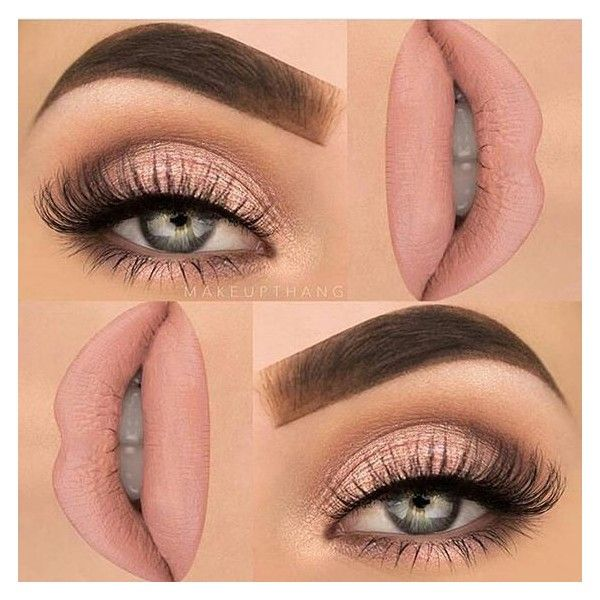 Nails and make-up ❤ liked on Polyvore featuring …