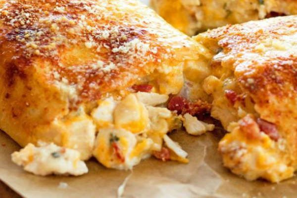 Chicken Bacon Ranch Stromboli Recipe!