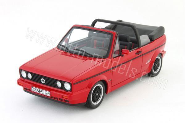 My dream car!! OttO: 1991 Volkswagen Golf Cabriolet Sportline - Red (OT052)