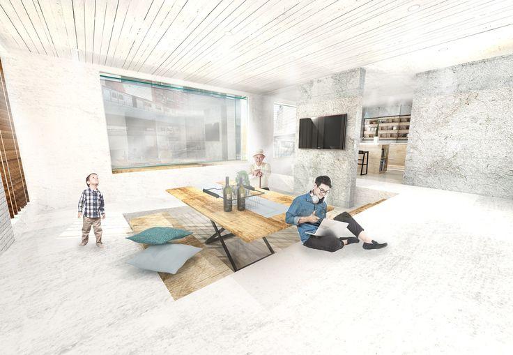 9 Best Interior Design Project Sketchup Rendering Images On