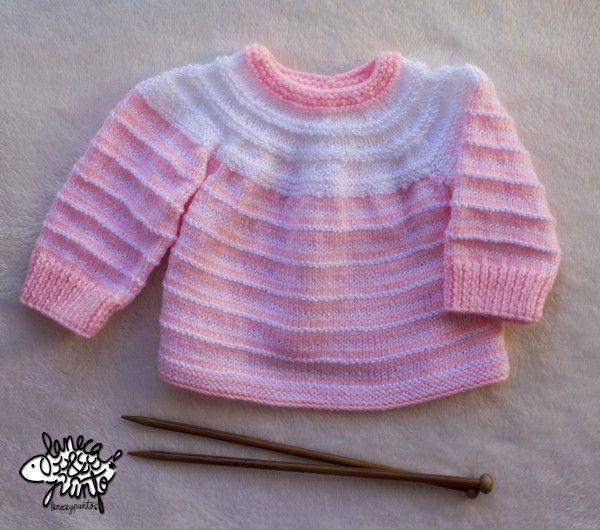 Jersey rosa y blanco. | Lanecaypunto