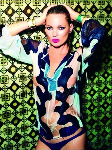 Kate Moss with Brazilian swag.