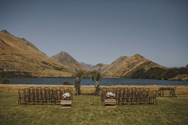 New Zealand wedding Ceremony place