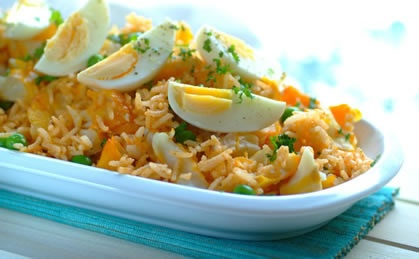 Easy Kedgeree with Haddock, Eggs & Peas recipe | Family Favourites recipes | Whats For Dinner