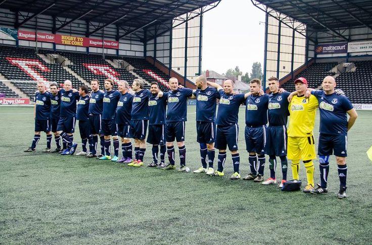 Motiv8Sport.com Inspiring Communities through Sport  Liverpool Transplant F.C the UK's first Registered all organ recipient team, lineup to play Hollyoaks Allstar Team at the Select Security Stadium, Widnes.