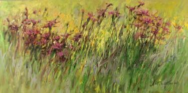 """Saatchi Art Artist Margaret Raven; Painting, """"Piece of marshy meadow"""" #art"""