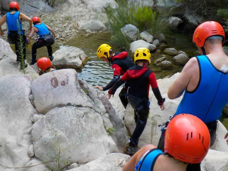 Adventuring through Rikavac Canyon is fun for the whole family on the Active Family Montenegro Holiday