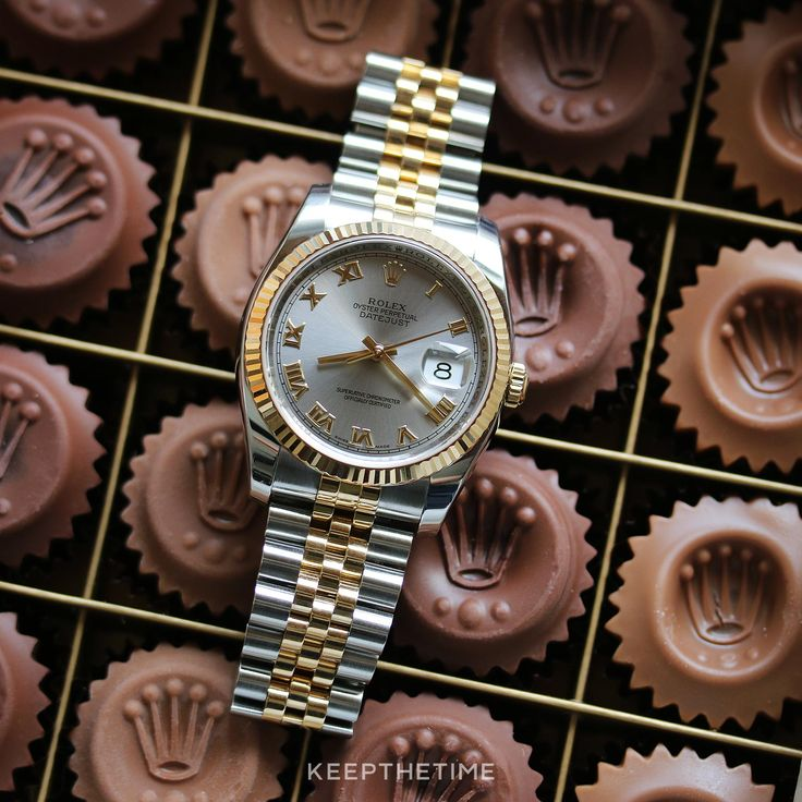 Rolex 116233 Datejust 36 Two-Tone Steel Roman Dial with Box and Papers
