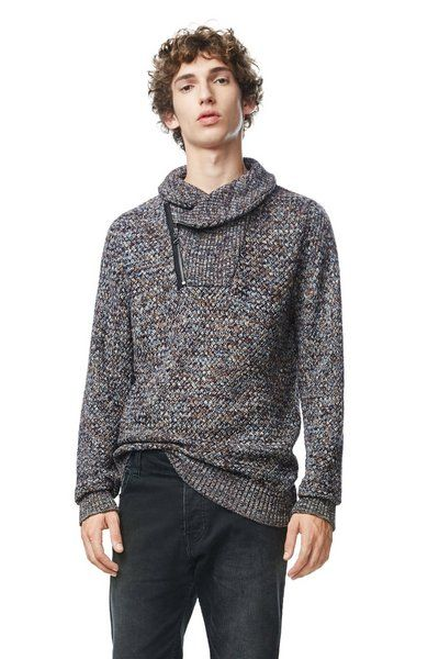 MAN KNITED LONG SLEEVE PULLOVER