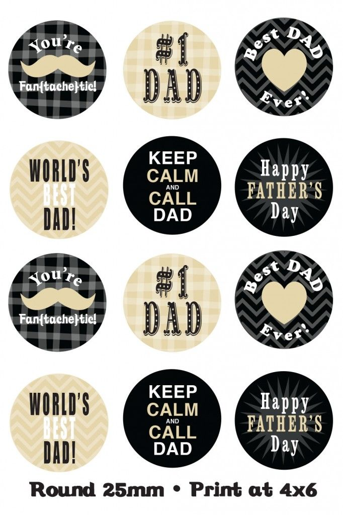 FREE PROJECT LIFE : EC Fathers Day Printables2
