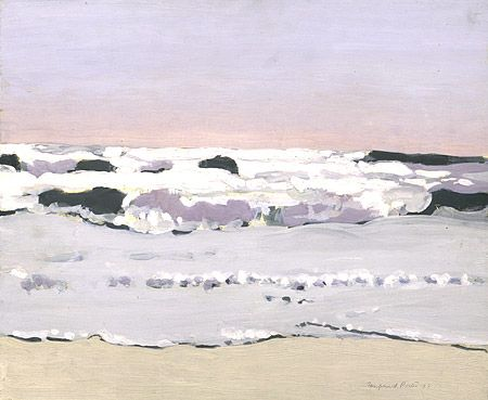 Bright Day on the Beach, United States, 1973, by Fairfield Porter.