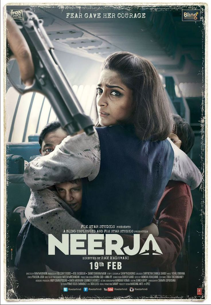 Yahoo Movies Review: Neerja  Ram Madhvani's 'Neerja' is nuanced, compelling and sincere. Our director shows rare restrain as he handles this remarkable biographical story of Neerja Bhanot, the flight attendant abroad the ill-fated Pan Am Flight 73, who was shot dead by terrorists.