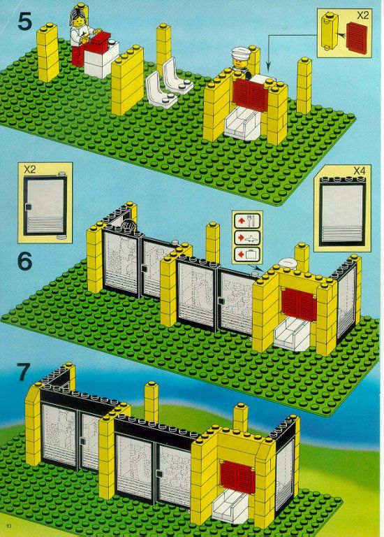 lego duplo airport instructions