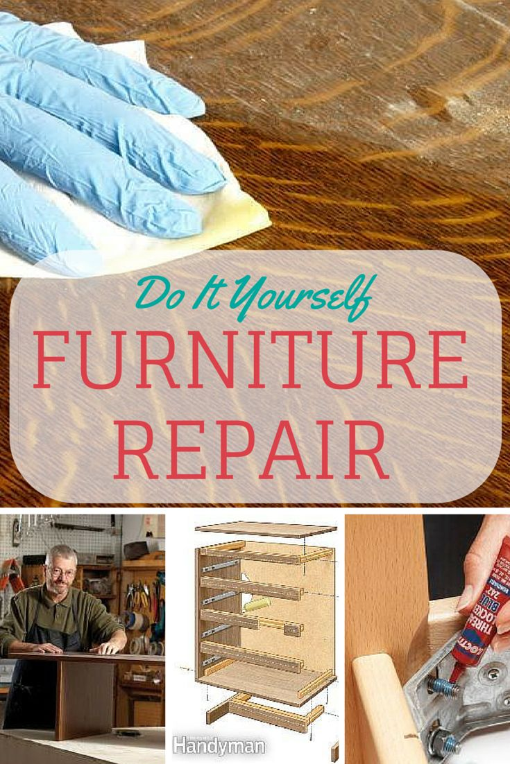 Furniture Repair: Fix tables, sticking drawers and chairs with these furniture repair how-tos. Read more: http://www.familyhandyman.com/woodworking/furniture-repair