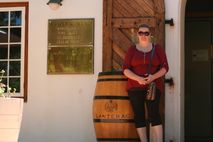 Me about to drink wine (the hole day). It's CT you have to its mandatory. ( On wine tour)(Des 2012)