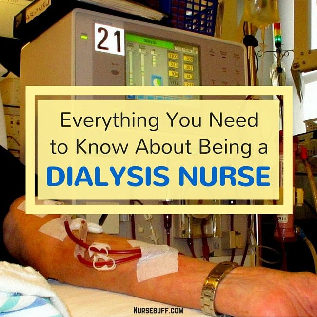 Everything You Need to Know About Being a Dialysis Nurse #nursebuff #nurse #dialysis