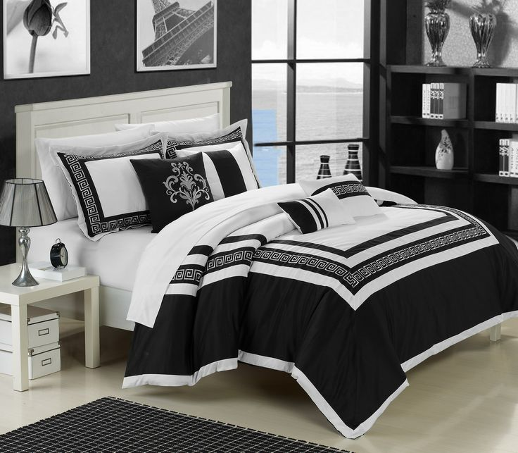100% Cotton, 200 Thread Count Luxurious 7 Pcs Comforter Set. The Essence Of