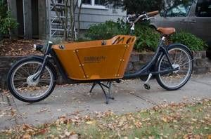 Dutch Cargo Bike Babboe City | eBay