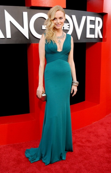 Heather Graham at Hangover 3 premiere