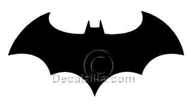 large batman symbol printable
